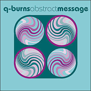 Q-Burns Abstract Message - You Are My Battlestar